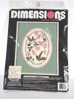 Dimensions No Count Cross Stitch Hummingbirds & Columbine