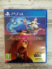Disney Classic Games:Aladdin And The Lion King (Pal España, Ps4 ).