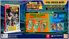 SUPER DRAGONBALL HEROES HE NSW (US IMPORT) GAME NEW