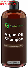 MORROCAN Argan Oil Shampoo Peach Avocado Jojoba Almond DHT BLOCKER HAIR GROWTH