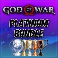 🔥 God of War Platinum Trophy Service GoW II,III +More PSN/PS3/PS4/VITA 🔥