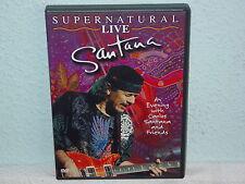 "*****DVD-SANTANA""SUPERNATURAL-LIVE""-2000 BMG Image*****"