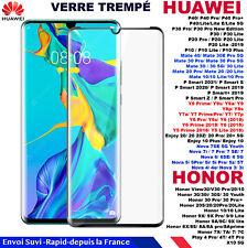 VERRE TREMPÉ HUAWEI Honor mate 10 20 30 P40 P30 P20 9X 8 Lite Pro NOVA 7 6 5 4 3