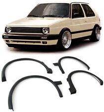 WHEEL ARCH FENDER FLARES ABS MOULDING TRIM VW GOLF MK2 II 2 1987-1991