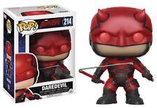 Funko - POP Marvel: Daredevil TV - Daredevil w/ Helmet Vinyl Action Figure New