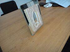 Bilderrahmen Glas Spiegel Figur  Rahmen 20 x 15  Fotorahmen mit Strass  Steinen