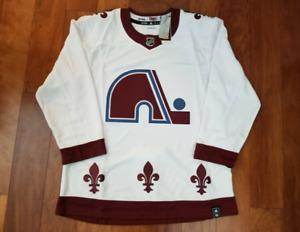 Colorado Avalanche Jersey 2020-21 Reverse Retro Quebec Nordiques Makar MacKinnon