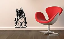 Wall Stickers Vinyl Decal Cute Dog Nursery for Kids Pet ig1371