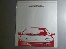 1990 Porsche 928 S4 928 GT Limited -Slip Difcerential Advertising Sales Folder