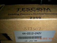 Tescom 44-2212-242V Pressure Reducing Regulator          Factory Sealed