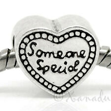 Someone Special Heart European Bead For Charm Bracelets - Gift For Kids, Friends