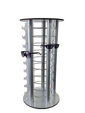 Round Counter Eyewear Stand Mirrors 50 Pair Sunglass Reading Glass Retail Store