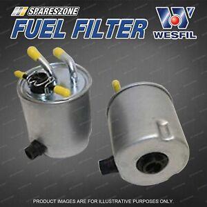 Wesfil Fuel Filter for Nissan Navara D40 Pathfinder R51 4Cyl Refer Z711