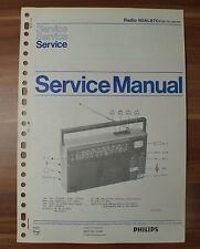 Radio 90AL870 Philips Service Manual Serviceanleitung