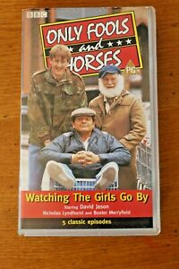 VHS Tape Only Fools & Horses Watching The Girls Go By 5 Classic Episodes PAL