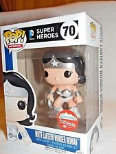 SDCC COMIC CON 2015 POP! FUNKO SUPER HEROES WHITE LANTERN WONDER WOMAN #70 VINYL