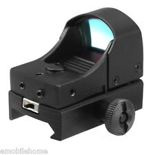 Tactical Mini Holographic Reflex Sight Red Dot Scope Light Adjustable Brightness