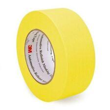 3M Yellow Masking Tape Automotive Refinish Crepe 60 Yds 2