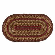 IHF Home Decor Oval Area Floor Carpet Braided Rug 8u0027 X 10u0027 Cinnamon Design