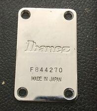 1984 Ibanez RB950 Roadstar II Bass Guitar Original Black Neck Plate Japan
