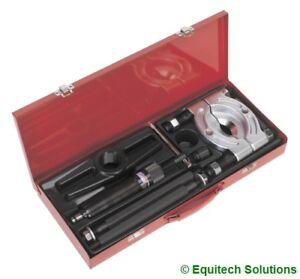 Sealey  PS980 Bearing Separator Puller Set 75-105mm 10 Ton Hydraulic Ram