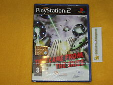 THE CAME FROM THE SKIES  PS2 SONY PLAYSTATION 2 VERS. PAL ITALIANA NUOVO SIGIL.