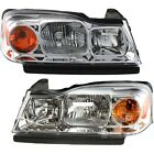 Headlight Set For 2006-2007 Saturn Vue Left and Right With Bulb 2Pc