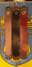 "BIG BEAUTIFUL CUSTOM HAND MADE DUKE CITY BUFFALO STRAIGHT RAZOR STROP 3"" X 27"