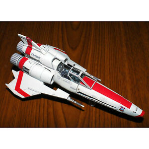 Battlestar Galactica Viper 2 Viper Mk II Ship Model Kit Spaceship DIY Toy Set