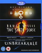M. Night Shyamalan Collection: Signs, Sixth Sense, Unbreakable [Blu-ray Box Set]