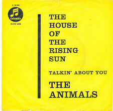 "7"" - The Animals-The House of the Rising Sun-Columbia C 22791-De 1964"