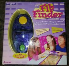 ELECTRONIC FIB FINDER GAME BY PRESSMAN, 2000, #3710, COMPLETE