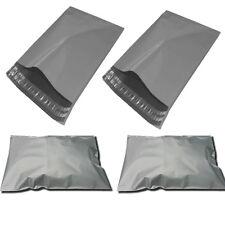 200x in plastica forte imballaggio Polietilene Postale Grigio Sacco postale 24x36 pollici