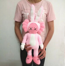 Original KAWS Pink Rabbit Companion Limited Edition Plush Doll Toy 40CM
