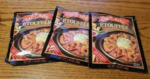 3 Count Packs Cajun King Mix Etouffee Seasoning 1.4 Ounces