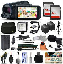 Canon 32gb VIXIA HF R62 hfr62 Videocámara + 128gb filmmaker's Broadcasting LOTE