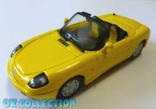 1:43 FIAT BARCHETTA - marca MAXI CAR colore giallo (yellow color)
