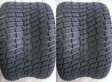 2 - 24x12.00-12 6 Ply HEAVY DUTY Deestone D838 Turf Master Lawn Mower Tires FREE