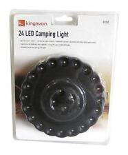 24 LED Campeggio Parasole Tenda Pesca UFO Stile Luce