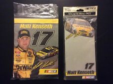 2003 NASCAR #17 Matt Kenseth  Magnetic  Memo pads and note pad by Martin designs