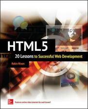 HTML5: 20 Lessons to Successful Web Development, Nixon, Robin