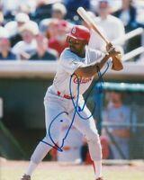 VINCE COLEMAN SIGNED ST.LOUIS CARDINALS 8x10 PHOTO! Autograph EXACT PROOF!