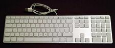 APPLE WIRED ALUMINIUM KEYBOARD A1243 ENGLISH UK FULL SIZE EXCELLENT CONDITION