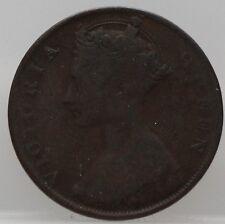 1875 Hong Kong - 1 cent  1875 one cent 1875 - KM# 4.1