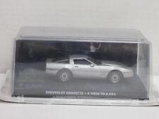"Chevrolet Corvette, James Bond ""Im Angesicht des Todes"", OVP, UH, 1:43"