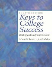 Keys to College Success: Reading and Study Improve