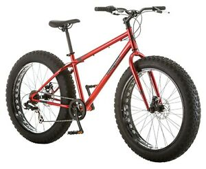 "Men's 26"" Hitch Fat 4"" Tire Bike Comfort Ride w/ Dual Disc Brakes, 7 Speeds"