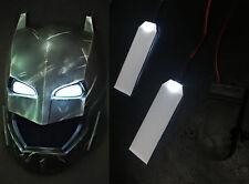 USA LED LIGHT EYES 1:1 IRONMAN/ BATMAN/BLACK PANTHER HELMET DIY EYES WHITE LIGHT