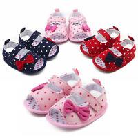 Toddler Baby Boys Girls Shoes Crib Prewalker Soft Sole Anti-slip Sneakers Shoes