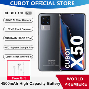 "6.67"" Cubot X50 8+128GB Handy 64MP 4G Dual Sim Smartphone 4500mAh Android 11 NFC"